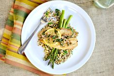 Pan-Seared Tilapia with Lemon Caper Sauce