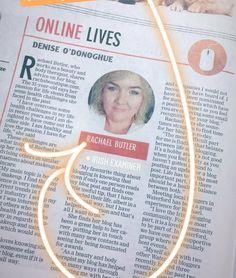 When your featured in the @irish_examiner #irishbblogger #deisebloggers #blogging #beautyandbody #beautytherapy