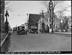Looking north to Avenue Road & Bloor 1932
