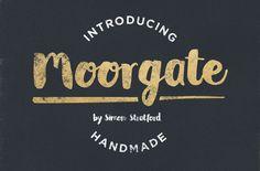 Moorgate brush script font by It's me simon on Creative Market