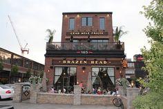 Great #Patio , Brazen Head Pub in Liberty Village, #Toronto