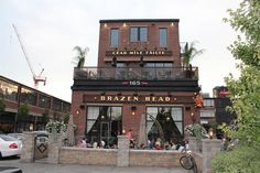 Brazen Head Pub in Liberty Village- Oldie but goodie place to go :) Even had our wedding rehearsal in their private room upstairs and they were amazing to us :)