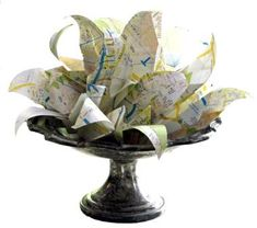 Paper Lily Cartographicus!  Made to order