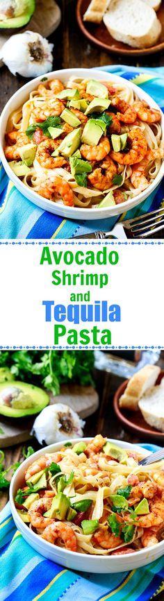 2410 best pasta the ultimate comfort food recipes galore images avocado shrimp and tequila fettuccine shrimp mealsshrimp recipesparty forumfinder Image collections