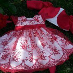 Red dream Girls Dresses, Flower Girl Dresses, Summer Dresses, Wedding Dresses, Red, Fashion, Child Fashion, Summer Sundresses, Bride Dresses