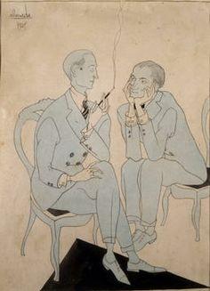 Um homem casado, ABC a Rir, Lisboa, 1, 5 de março de 1921.