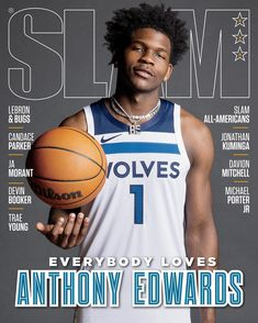 """SLAM on Instagram: """"The headline says it all. What's not to love? Anthony Edwards covers SLAM 233."""""""