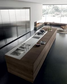 Nice 90+ Elegant and Modern Kitchen Decor ideas http://homearchite.com/2017/06/01/90-elegant-modern-kitchen-decor-ideas/