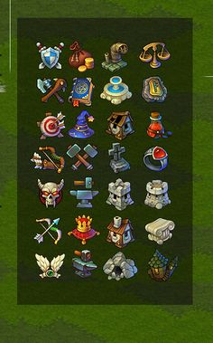 采集图片 icons game user interface gui ui | Create your own roleplaying game…