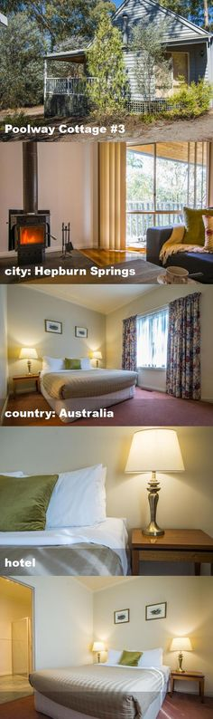 Poolway Cottage #3, city: Hepburn Springs, country: Australia, hotel Australia Hotels, Valance Curtains, Cottage, Country, City, Home Decor, Decoration Home, Rural Area, Room Decor
