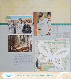 Diana's My Favorite Scrapbook Circle Kit Ideas