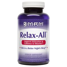 MRM Relax-All with Gaba 60 Caps