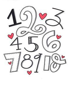 1-10! #abcs_numbers #handletteredabcs_2017 #handletteredabcs #lettering #handlettering #handlettered #numberart #font #handmadefont #handfont #letteringartist #letteringpractice #letteringchallenge #blockletters #bubbleletters #script #numberseven #typespire #typegang #typematters #typelove #thedailytype #togetherweletter #strengthinletters #strengthinguards