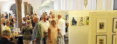 Fernisering på udstillingen i Helligåndshuset, København, onsdag 30. juli 2014.