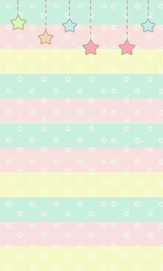 Pastel stars and stripes ark, pastel wallpaper, star wallpaper, kawaii wall