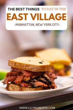 The East Village is brimming with restaurants at all price points, but here are my favorite ones! Ranging from must-eat legends like Katz's to classic bagel shops, this short guide has you covered for iconic NYC eats in the East Village. Bagel Shop, Visit New York City, Pork Buns, Best Street Food, East Village, Best Places To Eat, International Recipes, Foodie Travel, Travel Guides