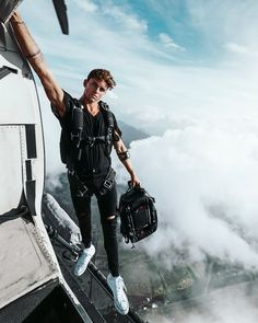 September my custom line with douchebags drops best travel bags in the world I know catchy name for any of you that actually know Converse Outfits, Sneaker Outfits, Converse Sneaker, Boy Photography Poses, Adventure Photography, Nature Photography, Jay Alvarrez, Best Travel Bags, Catchy Names
