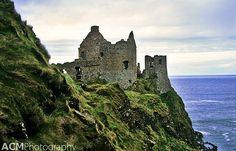 Dunluce Castle Ruins, Northern Ireland