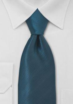 Elegant Teal Blue Mens Tie | Bows-N-Ties.com