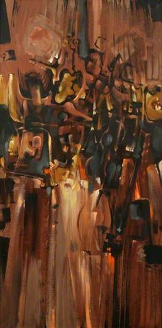 Bryan Wynter, Subterrain I, 1961 Abstract Expressionism, Abstract Art, Art Uk, Your Paintings, Color Themes, Art Lessons, Street Art, My Arts, British