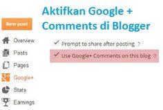 Anda sebagai seorang blogger, bertanggung jawab untuk menjawab pertanyaan mereka dan mempertahankan konten Anda. Pembaca akan berbicara tentang konten Anda melalui banyak platform seperti komentar blog Anda, atau di media sosial seperti Google+. Jadi, menjaga percakapan dan komentar yang terjadi di blog Anda bisa menjadi tugas yang membosankan dan menakutkan. itulah sebabnya Google kini telah memutuskan untuk membantu pengguna Blogger dengan memadukan Google Plus Comments ke Blogger.