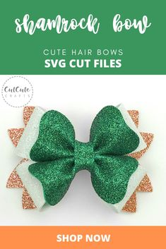 Dainty foam glitter matte simple cute girly bows with nylon bands