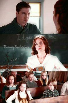 Mean school teacher face.. love this part