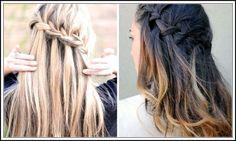 waterfall braid best hairstyles for teen girls
