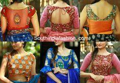 8 Super Pretty Kalamkari Blouse Designs - Shop Them Online!
