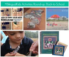#BilingualKids Weekly Activities in Spanish Round-up: Back-to-School