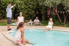 Après-midi détente au bord de la piscine!