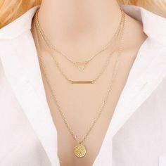 2016 frauen Neue Mode Gold Kette Türkis Perlen Blatt Kreuz Quaste Mehrschichtige Halsketten & Anhänger Für Weihnachtsgeschenke