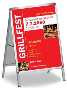 Originelle Layouts für dein #Grillfest von www.onlineprintxxl.com #originell #layout #grillparty #barbeque #barbequeparty