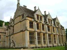 Woodchester Mansion, Woodchester, Gloucestershire, England. The construction of this mansion started in 1858, but the builders abandoned it fifteen years later. It's complete from the outside, but rooms and floors are missing.