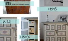 Mueble castellano recuperado Chalk Paint, Ideas Para, Lockers, Magazine Rack, Locker Storage, Gallery Wall, Cabinet, Furnitures, Home Decor
