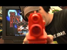 One of the most fun and probably the most gory games for the #Sega #Dreamcast is The #House #of #the #Dead. An arcade style zombie killing game where all you have is a plastic gun and rely on quick reflexes. This is by far one of the most fun two player games out there. Check out this review. #video #games #throwbackthursday