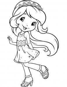 desenho para colorir da moranguinho ausmalbilder strawberry
