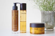 A divine body can now be yours with the Limited Edition Divine Body Collection from Caudalie. Treat yourself with the heavenly Divine Oil, a beautifully scented multi-use miracle oil; the Divine Scrub, to smooth and nourish the skin; and Divine Legs!