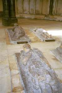 Tombs of Templar Knights in Temple Church