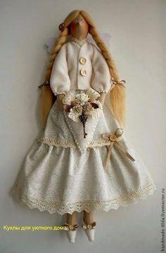 """Куклы Тильды ручной работы. Ярмарка Мастеров - ручная работа Фея """"Ваниль"""". Handmade."""