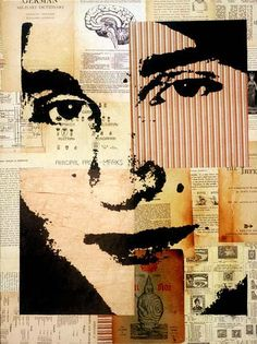 Alex, Collage Portraits of Michelle Caplan