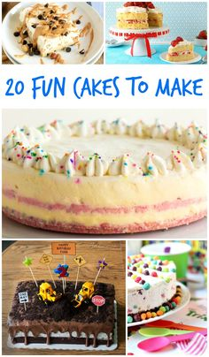 Need a fun idea for a celebration? Check out these fun cakes to make!