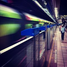 Taipei MRT, Taiwan - Photo by Pablo Gerbasi with an iPhone 4
