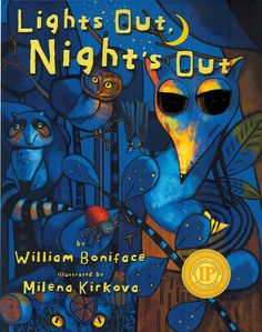 """""""Lights Out, Night's Out"""", is one very special children's book Sweet Tooth is carrying for Fall 2014. Lights Out, Night's Out is an AniMotion book. When you open each page, it turns little pictures into moving visuals."""