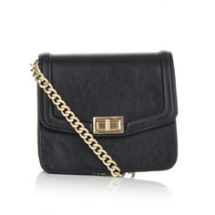 Cross-body Satchel Bag Black Satchel Bag, Crossbody Bag, Cross Body Satchel, Metal Chain, Campaign, Shoulder Bag, Bags, Handbags, Satchel