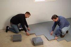 Waterproof Basement Floor Matting | Basement Sub Floor Systems
