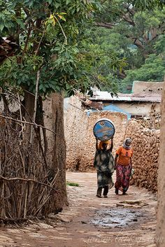 Street of Harar, Ethiopia