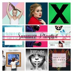 """What's Your Summer Playlist? (Top Set for July 12th)"" by antemore-765 ❤ liked on Polyvore featuring art and Summerplaylist"