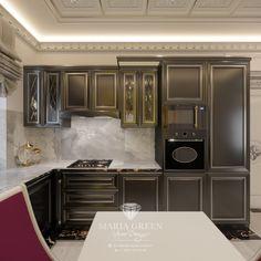 Tiny Moscow Apartment Design – Maria Green – Interior Designer One Room Apartment, Apartment Design, Compact Living, Tiny Living, Luxury Interior, Interior Design, Decorative Plaster, White Doors, Cabinet Furniture