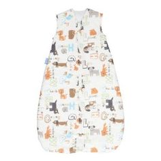 The Gro Company grobag Baby Sleeping Bag, Alphapets Neutral 2.5 TOG, 18-36 Months by The Gro Company. $44.99. Quick-dry polyester batting on a 2.5 tog. 2-way front zip on all sides. 100% woven printed cotton. 100% super soft jersey cotton lining. 100% cotton outer& lining; 100% polyester filling. Fits a 5-point travel harness. Grobag Baby Sleep Bags are the safer alternative to top sheets and blankets. Grobag is FSID's (The UK's leading crib death research chari...